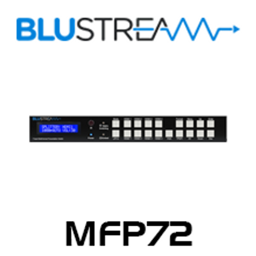 BluStream MFP72 7 Input 2 Output Multi-Format Presentation Switch
