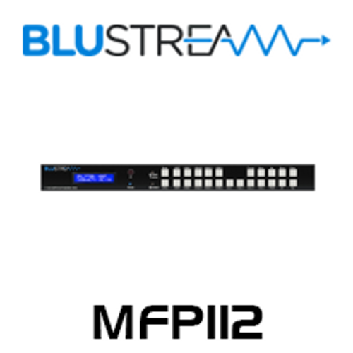 BluStream MFP112 11 Input 2 Output Multi-Format HDBaseT Presentation Switch