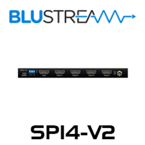 BluStream SP14-V2 1:4 HDMI 2.0 4K Splitter