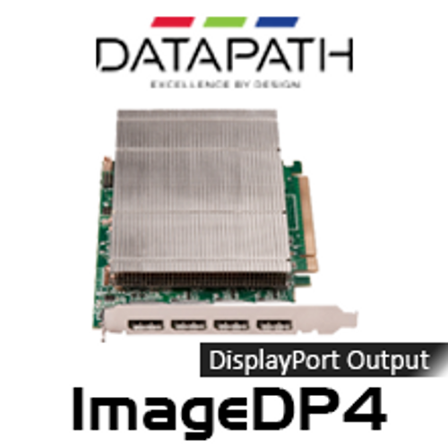 Datapath ImageDP4 4 DisplayPort PCI Express Graphics Card (Windows 7)