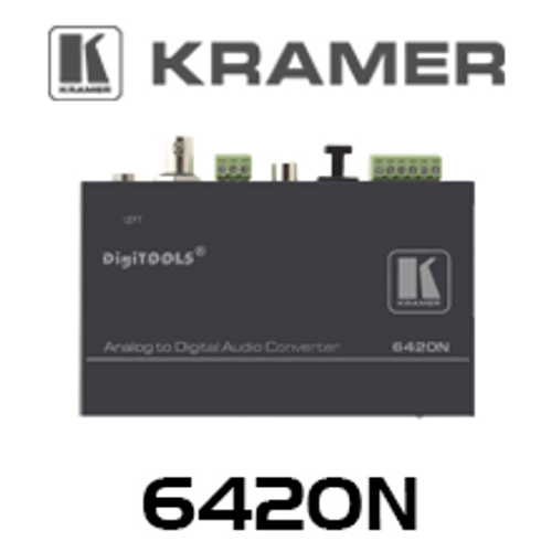 Kramer 6420N Balanced Stereo Audio to Digital Audio Format Converter