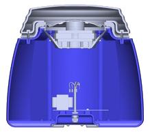 Blue shaded area