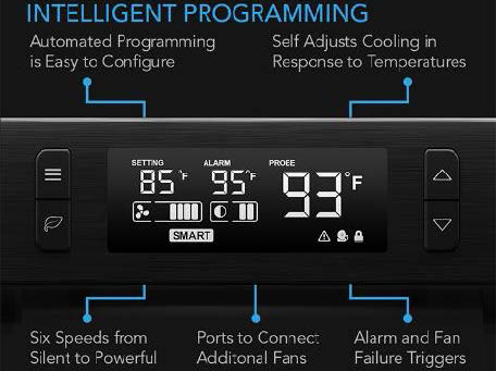 AC Infinity smart thermostat control