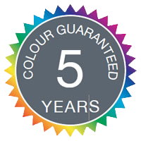 5 Years colour guaranteed