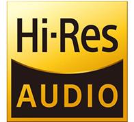 Hi resolution audio