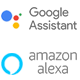 Built-In Google Assistant and Amazon Alexa