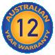 12 Year Australian Warranty