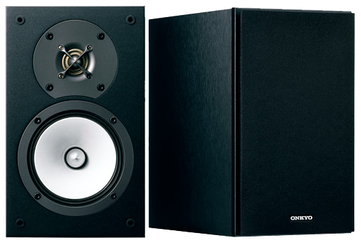 Optional Onkyo D-165 2-Way Bass Reflex Speakers