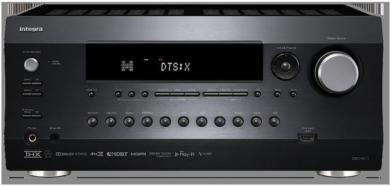 Integra DRC-R1.1 11.2-Ch Dolby Atmos & DTS-X Network A/V Preamp