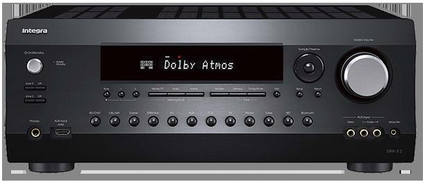 Integra DRX-3.2 9.2-Ch, DTS:X & Dolby Atmos Network AV Receiver
