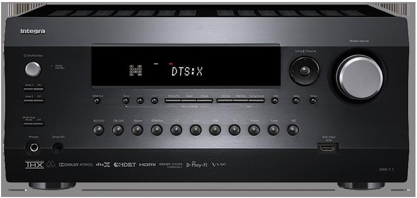 Integra DRX-7.1 9.2-Ch THX, DTS:X & Dolby Atmos Network AV Receiver