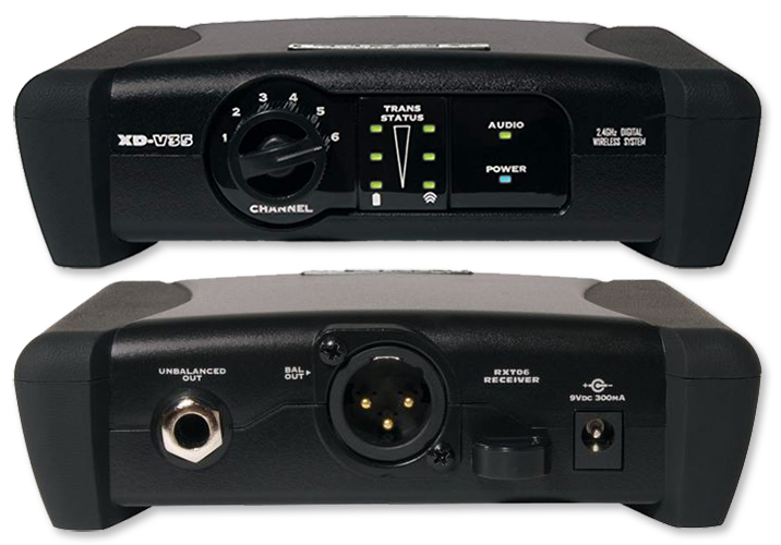 Line 6 XD-V35 6-Channel 2.4GHz Digital Handheld Wireless System