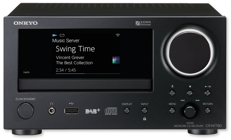 Onkyo CR-N775D Micro Network CD Receiver Only