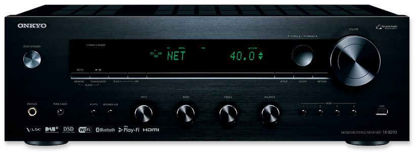 Onkyo TX-8270 Multi-Zone Network Stereo Receiver