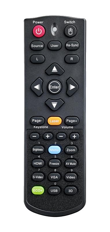 Optoma W502 Remote