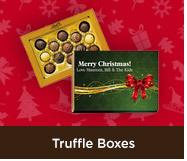 Christmas Truffle Boxes