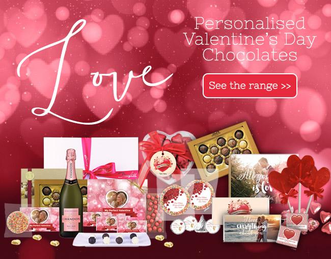 Valentine's Day Personalised Chocolates