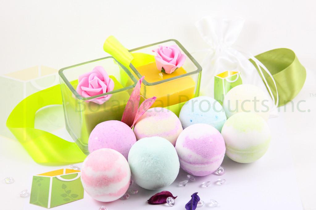 Organic Bath Bombs by Botanical Products Inc.