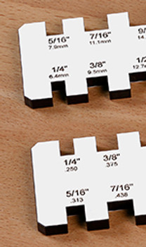 Woodpeckers | Paolini Planer Gauge - Metric (PPG-MM)