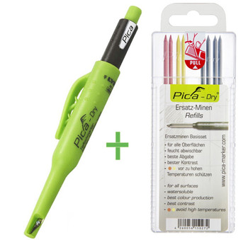 Pica Dry Automatic Pencil 3030 with Refill - Basic 4020 Combo (5030)