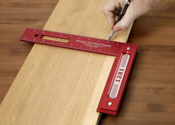 """Woodpeckers   1281 12"""" Precision Woodworking Square (1281R)"""