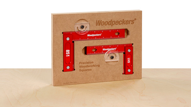 Woodpeckers Precision Woodworking Square Combo (Metric) (641851M)