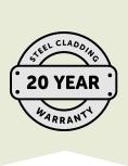 20 Year Warranty