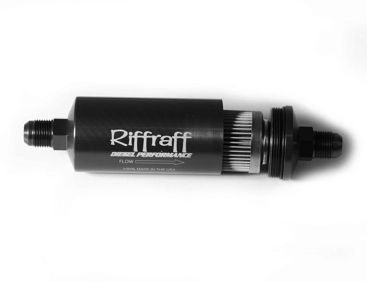 Riffraff Diesel Inline Fuel Filter Canister On 99 F250 Powerstroke