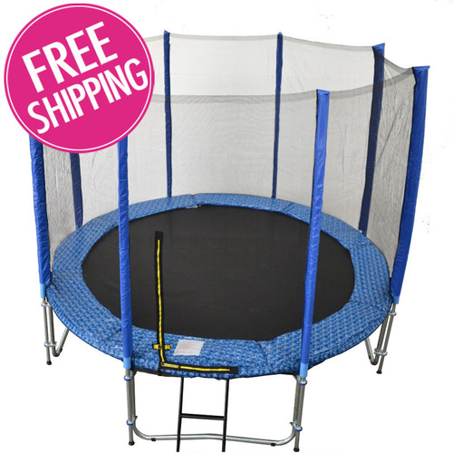 Buy 10ft Trampoline With Enclosure