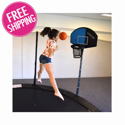Trampoline Basketball Ring
