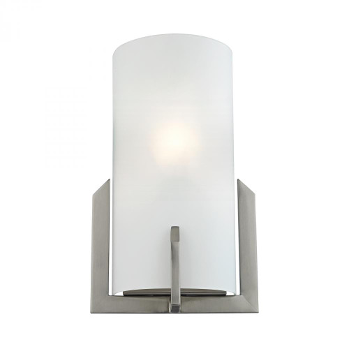 Elk Cornerstone 1 Light Wall Sconce In Brushed Nickel 75X12 5111Ws/20