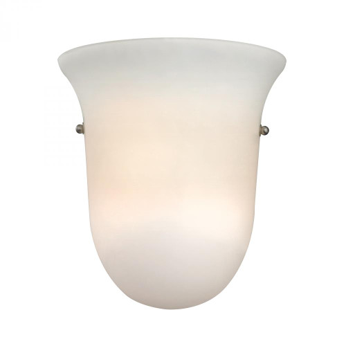Elk Cornerstone 1 Light Wall Sconce In Brushed Nickel 9X95 5121Ws/99