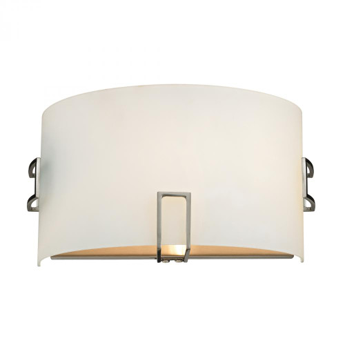 Elk Cornerstone 1 Light Wall Sconce In Brushed Nickel 11X6 5131Ws/20