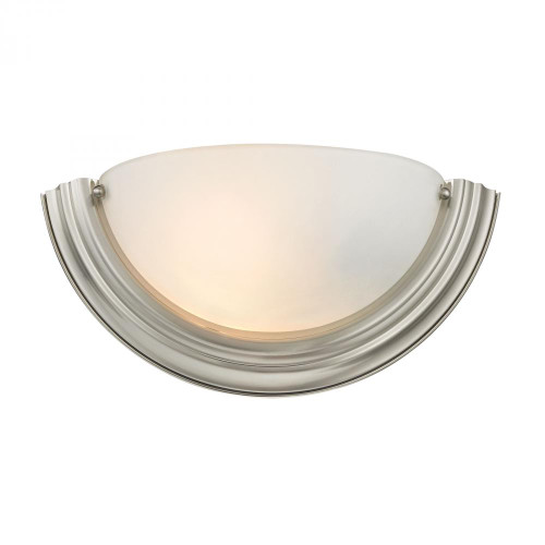 Elk Cornerstone 1 Light Wall Sconce In Brushed Nickel 135X6 5151Ws/20