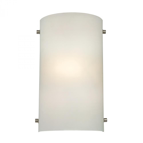 Elk Cornerstone 1 Light Wall Sconce In Brushed Nickel 75X12 5161Ws/99