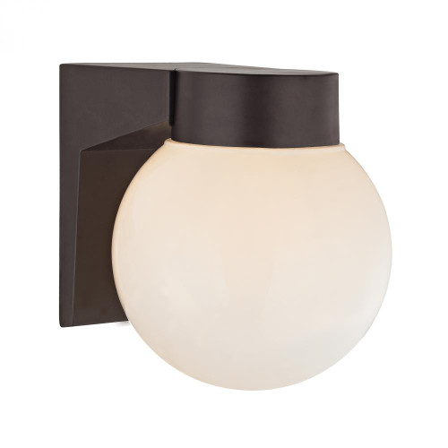 Elk Cornerstone 1 Light Outdoor Wall Sconce In Oil Rubbed Bronze 6X7 9201Ew/75