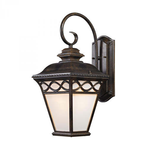 Elk Cornerstone Mendham 1 Light Coach Lantern  In Hazelnut Bronze 9X1925 8561Ew/70