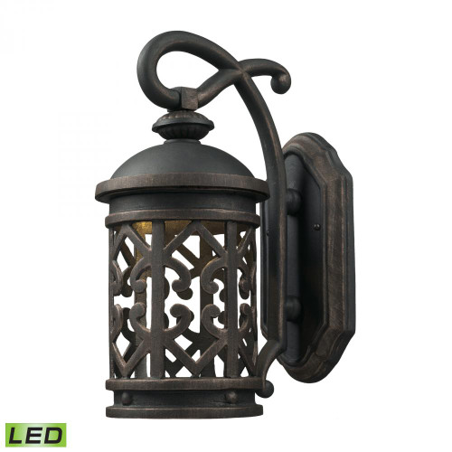Elk Cornerstone TuscCoast - LED 1 Light Exterior Wall Mount 7X14 7201Ew/71-LED