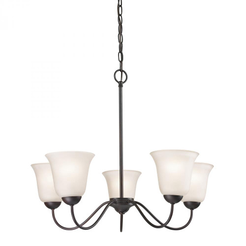 Elk Cornerstone Conway 5 Light Bronze Chandelier-1255CH/10