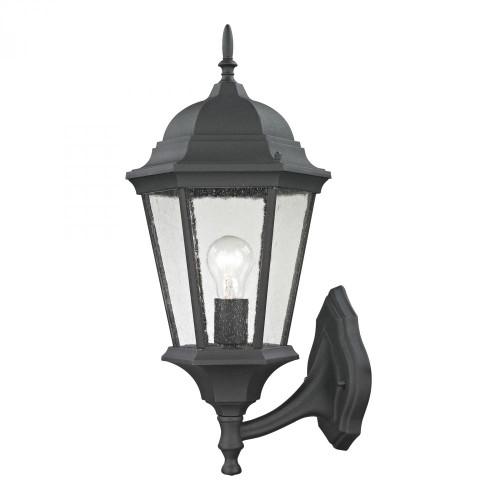 Elk Cornerstone Temple Hill Coach Lantern In Matte Textured Black 95X205 8111Ew/65