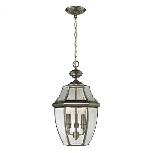 Elk Cornerstone Ashford 3 Light Exterior Hanging Lantern 12X21 8603Eh/80