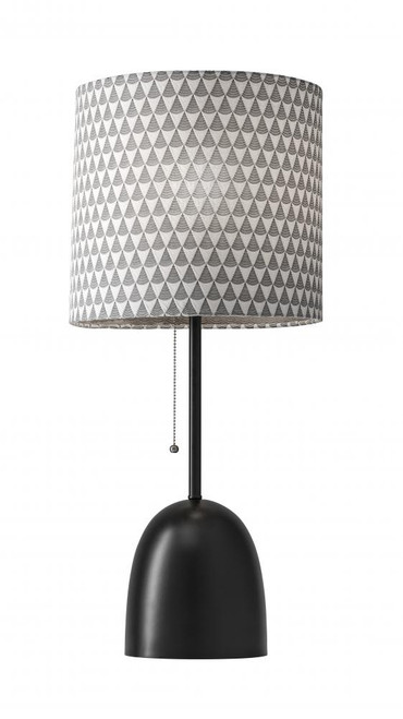 Adesso Lola Table Lamp In Black 1500-01