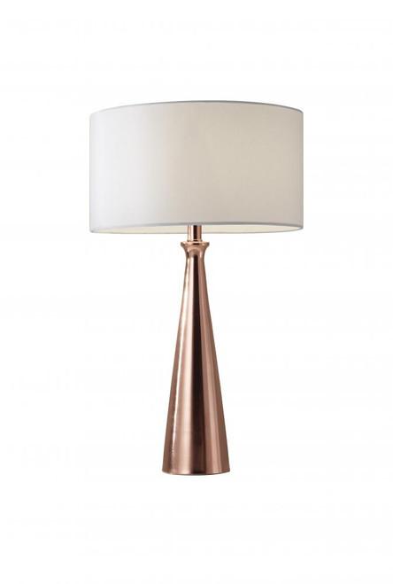Adesso Linda Table Lamp In Copper 1517-20