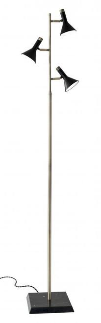 Adesso Bennett LED Tree Lamp In Brass 3289-01