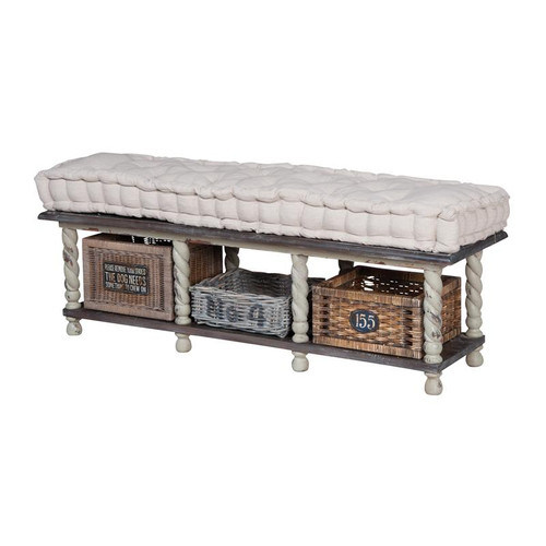 Guild Masters European Farmhouse Storage Bench 654004