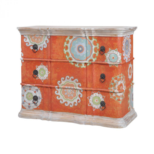 Guild Masters Harmony Chest In MottLED Tangerine 6415506