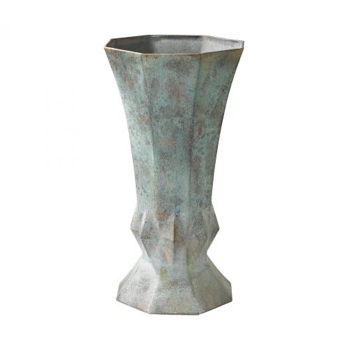 Guild Masters Geometric Patina Vase 2100-015