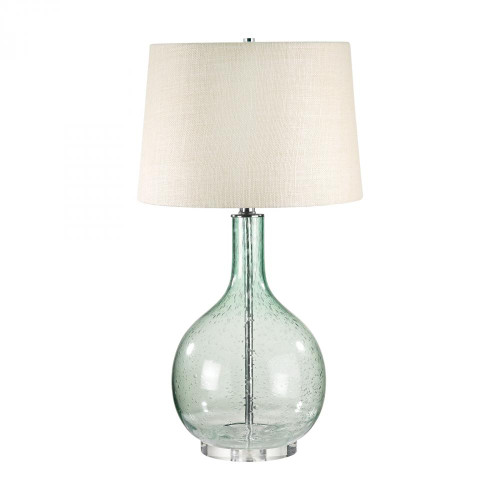 Lamp Works Green Seed Glass Table Lamp 230G