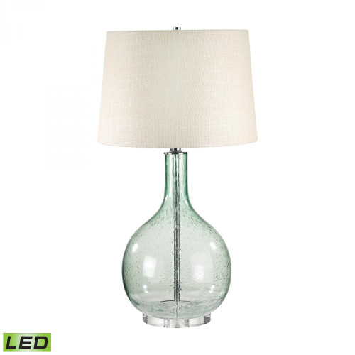Lamp Works Green Seed Glass LED Table Lamp 230G-LED