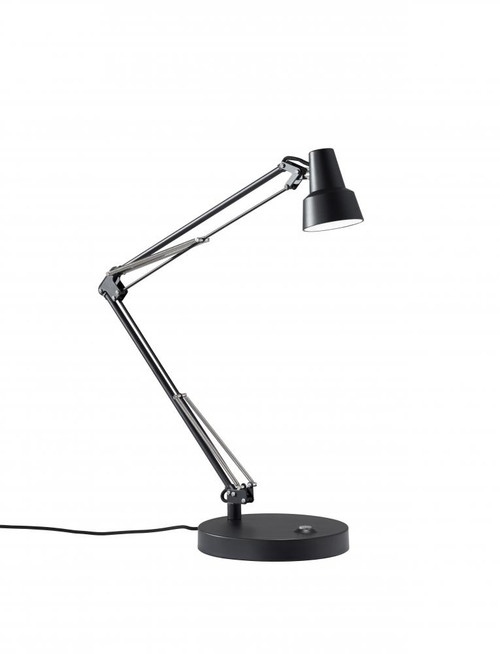 Adesso Quest LED Desk Lamp In Black 3780-01